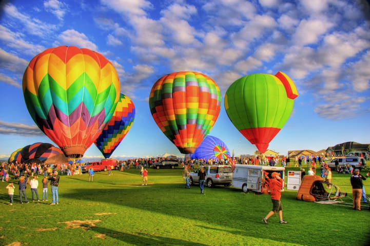 The ColorFest hot-air balloon weekend is a delightful, unique experience