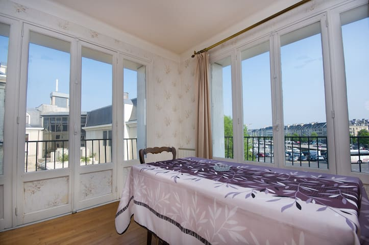 Charming apartment with marina view - Caen - Apartmen