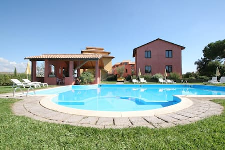 Apartment for 4 with a swimmingpool - Fonteblanda