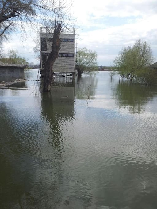 Floods are often in spring, don't worry, we provide boats :)