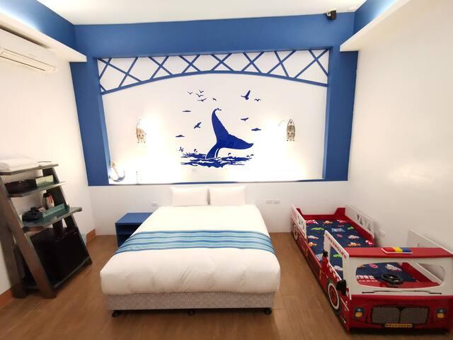愛晴海民宿(Sunshine guesthouse)-海洋庭園三人套房