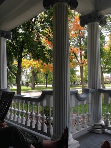 Front Porch view of the Park