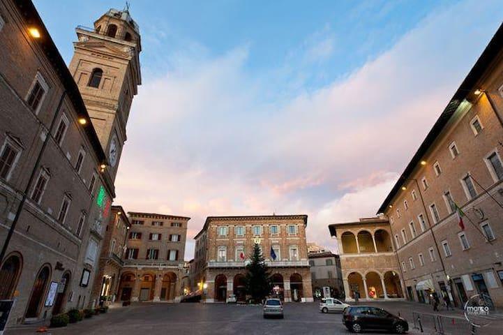 Stanza privata in appartamento - Macerata - Apartament