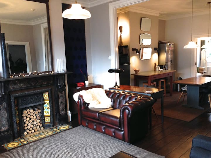 Mod Victoriana in Central East Oxford - 65sqm flat