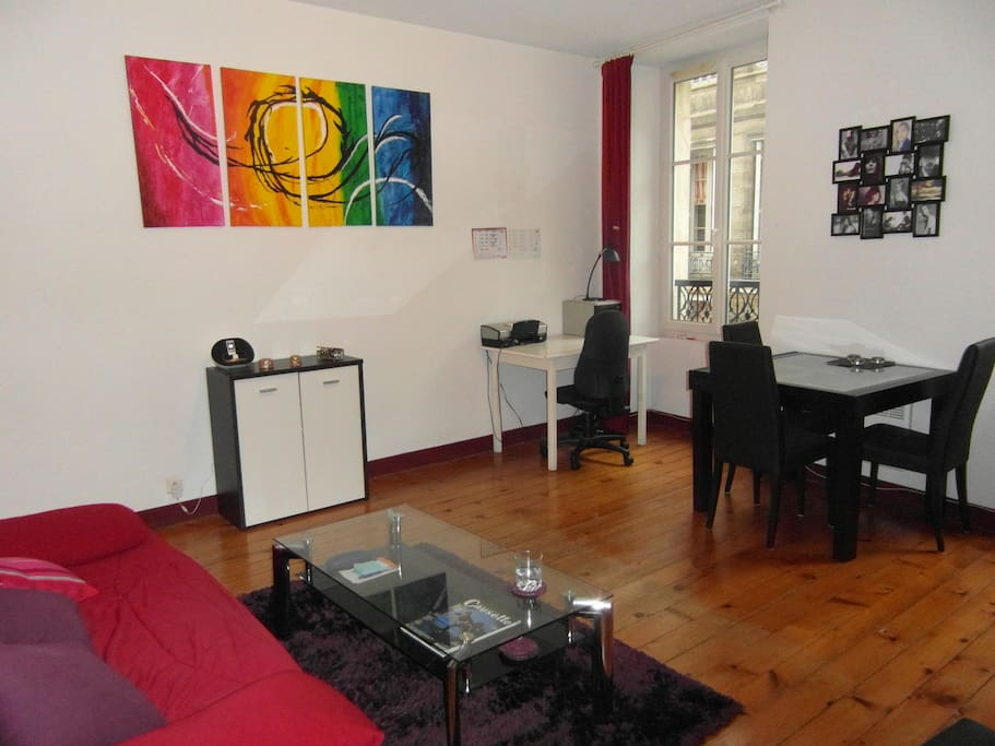 T2 hypercentre gambetta appartements louer bordeaux for Appartement t2 bordeaux location