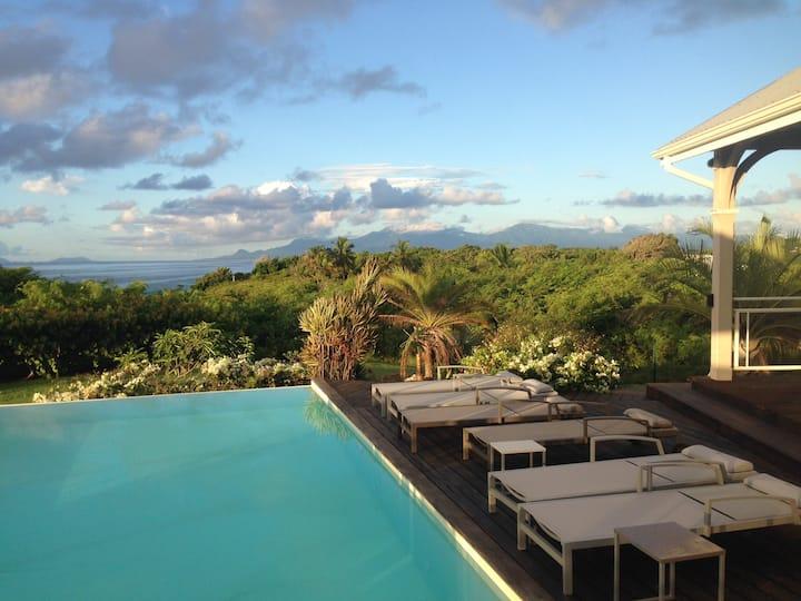 Villa Eleuthera 5 étoiles Saint Anne Guadeloupe