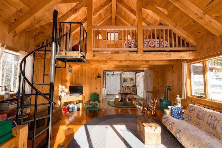 Cozy Cabin Minutes From Sugarbush