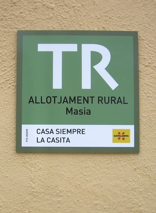 Fully registered with the Catalan tourist board