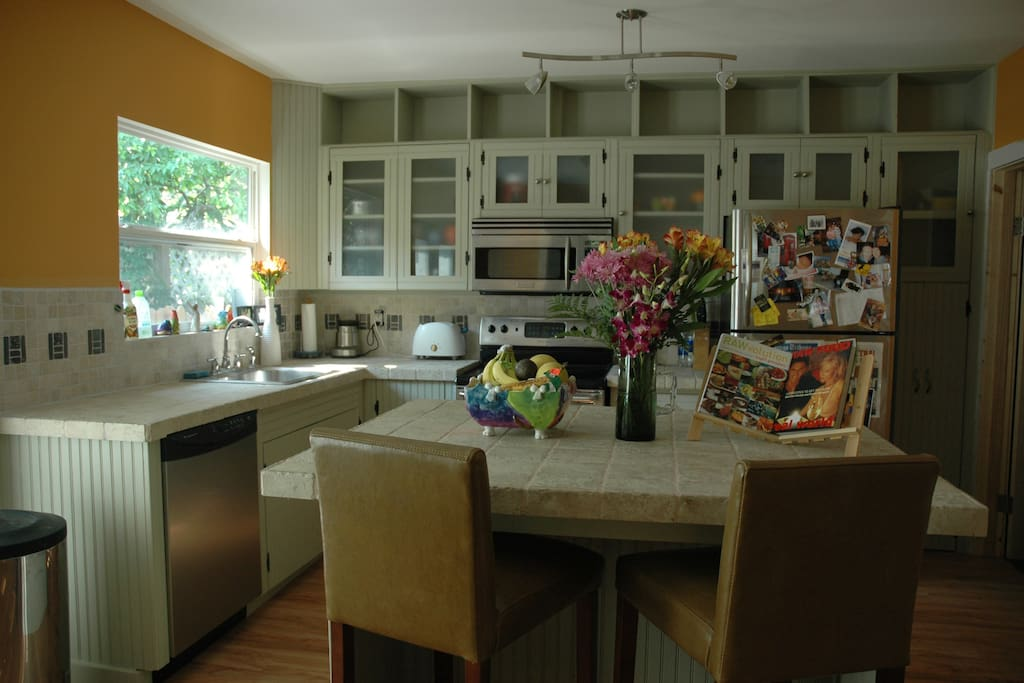 Great full kitchen for cooking