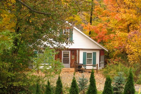 Cosy 4 bedroom lodge with fireplace - Punxsutawney