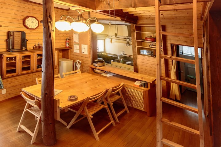 Onsen Cabin in the trees, 8 mins to resort - Niseko - Chatka