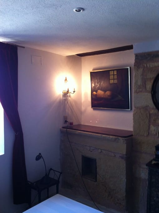 Gezellige kamer in frans landhuis bed breakfasts for rent in salles de belv s aquitaine france - Bed kamer ...
