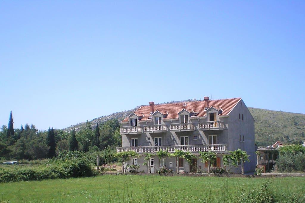 Family house in Kupari valley