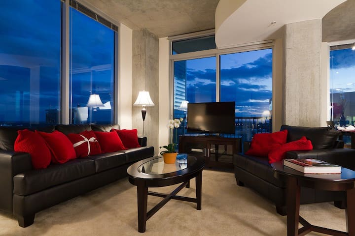 1 bedroom, 24th fl Uptown Fully Furnished - Charlotte - Flat