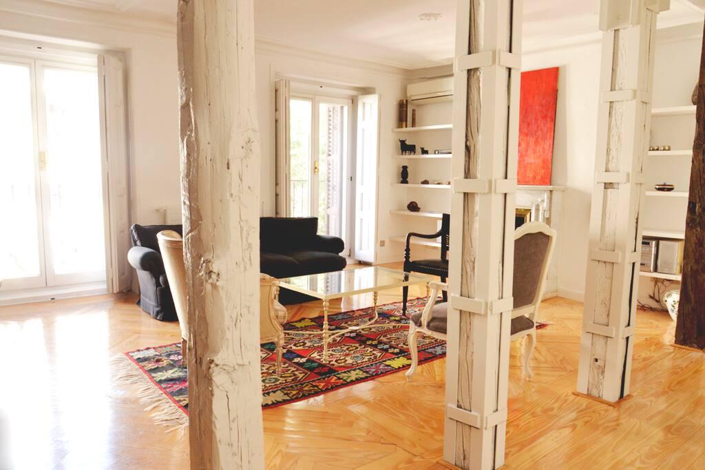 Piso con encanto cerca del retiro apartamentos en - Sitios con encanto cerca de madrid ...