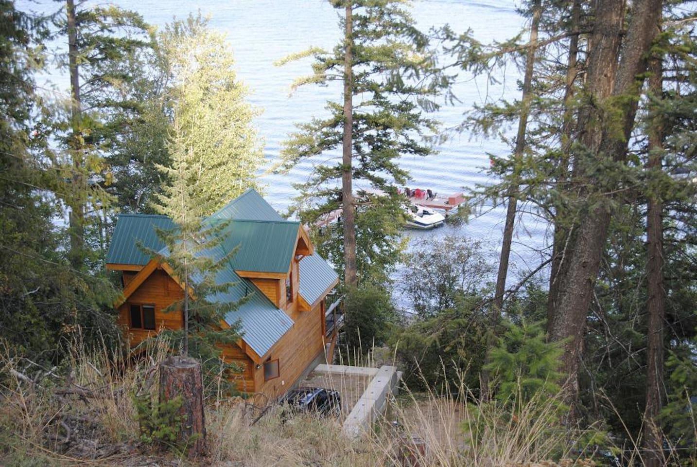 Waterfront Cabin on Lake Okanagan