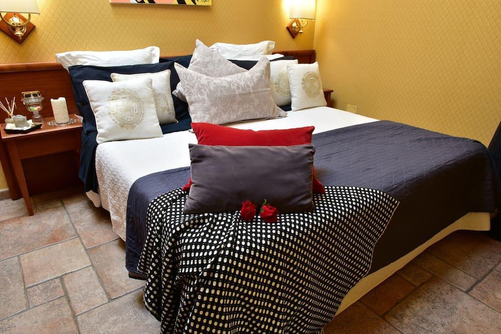 Standrd double room De Curtis Catania