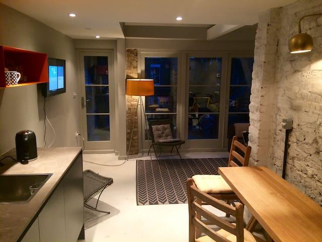Stylish self-contained studio in London zone 2. - London - Suite tamu