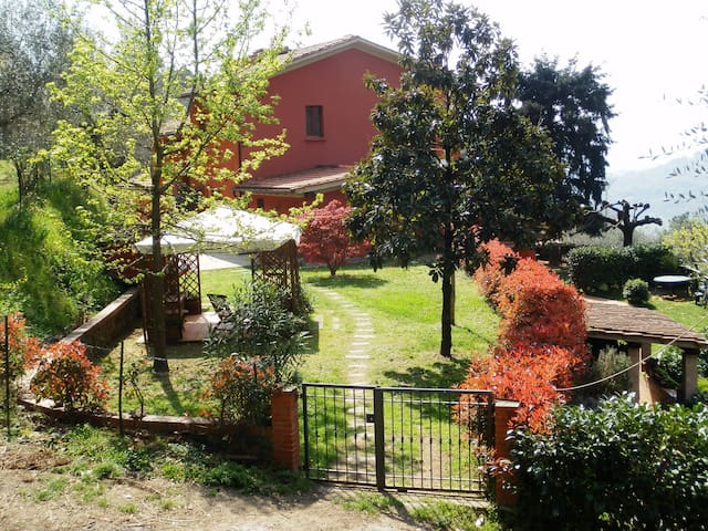 House in the Tuscan countryside - Massa e Cozzile - Apartemen