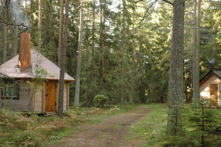 cabins in Urnatur´s Wood Hermitage - Ödeshög - Cottage