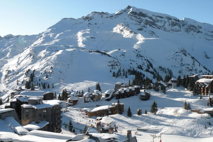 Flat 6/7 pers. with balcony in Alpage1 Building - avoriaz - Leilighet