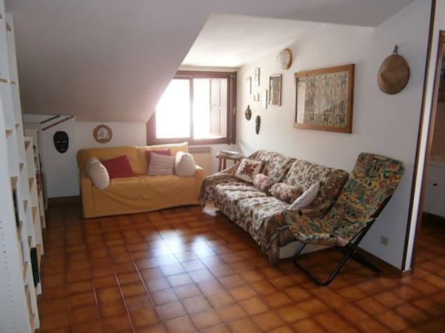 Accogliente mansarda a Ossimo (BS) - Ossimo Superiore - Apartament