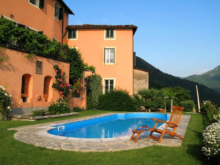 Large villa with swimming pool