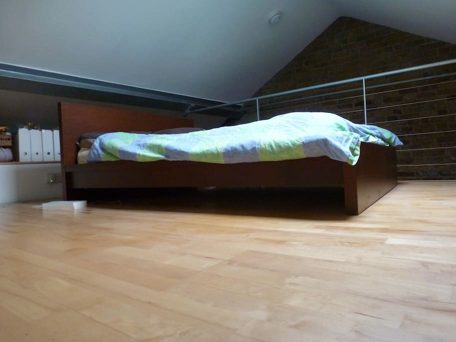 The Bedroom: 1 Double Bed