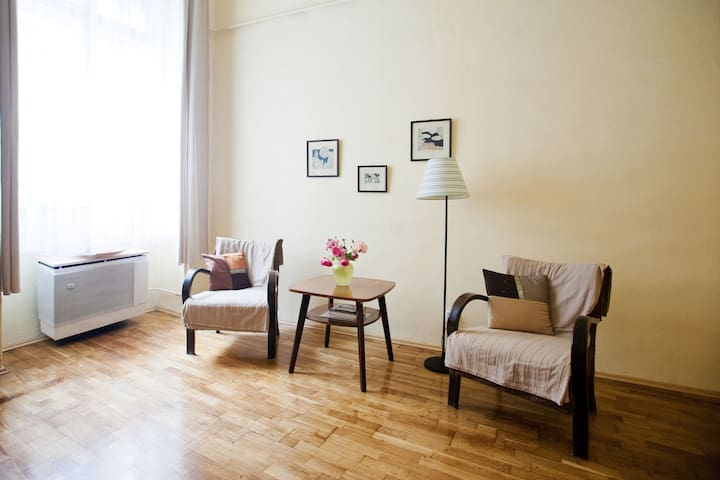 Budget apartment in the downtown! Free slippers - Budapest - Lägenhet