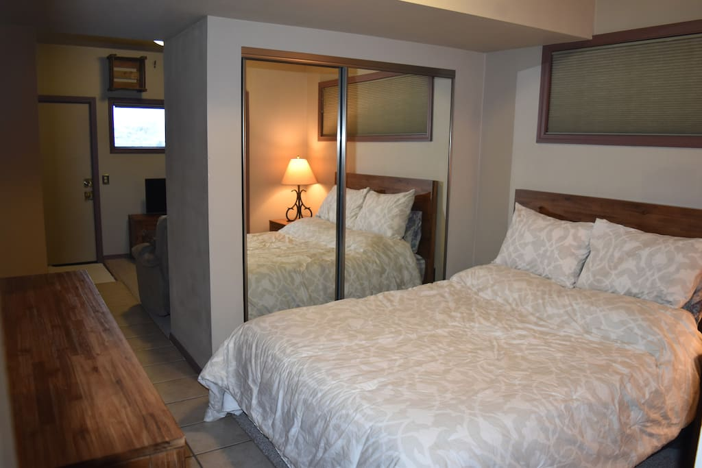 Private Suite; perfect for single or couple.