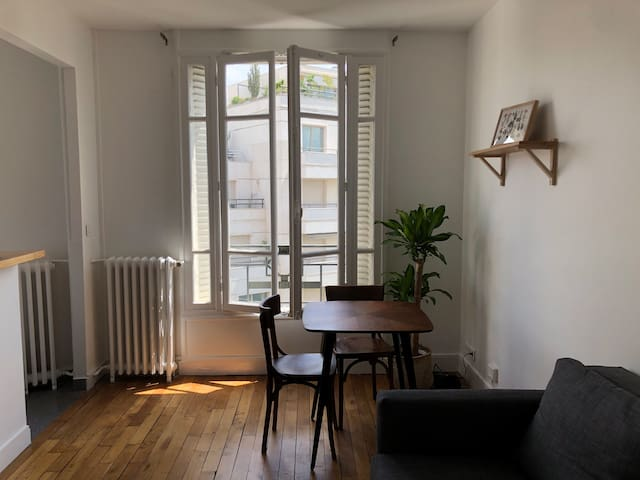 beautiful parisian apartment in levallois