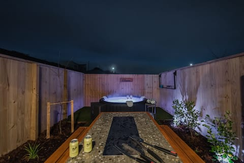 Stones Throw From the Stadium + Hot Tub (NEW)
