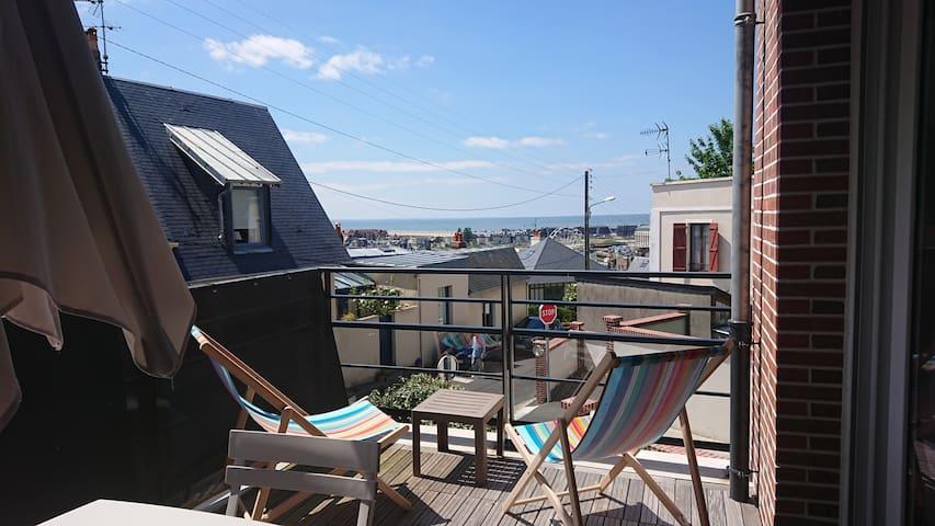 Trouville sur Mer wonderful  seaview