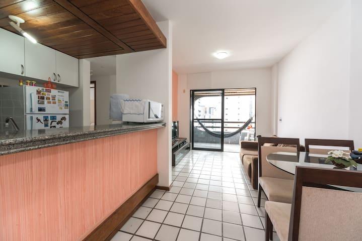 Flat 2 quartos (rooms). Conforto! - Recife - Appartement