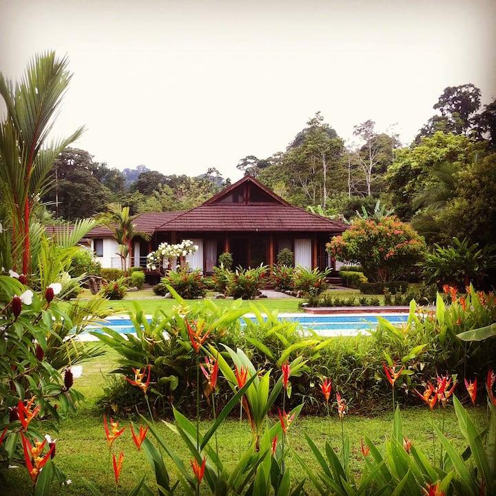 Lilan Nature, The Main House.
