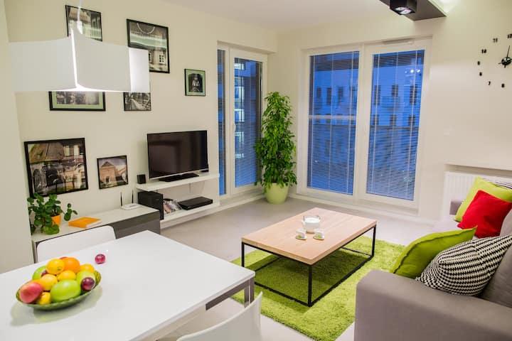 Kiwi Apartment - central Wroclaw.