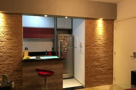 Cozy apartment near  to Transamerica Expo Center - São Paulo - Appartement