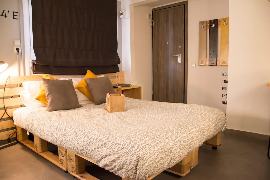 The cozy bed of dreams :)