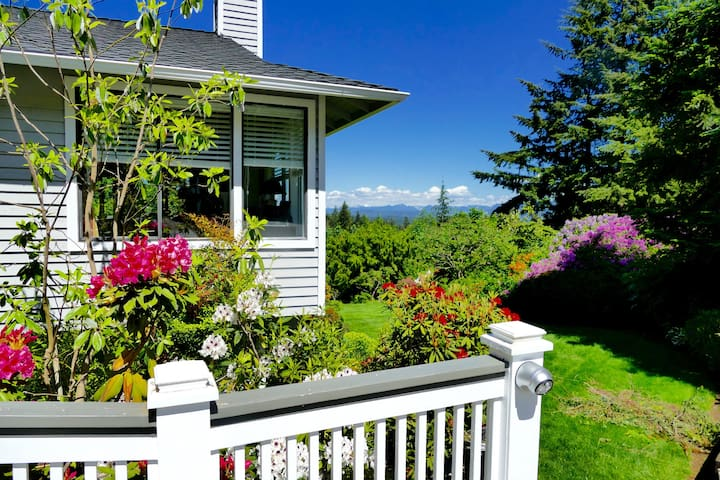 View and birds in Woodinville Wine Country - Woodinville - House