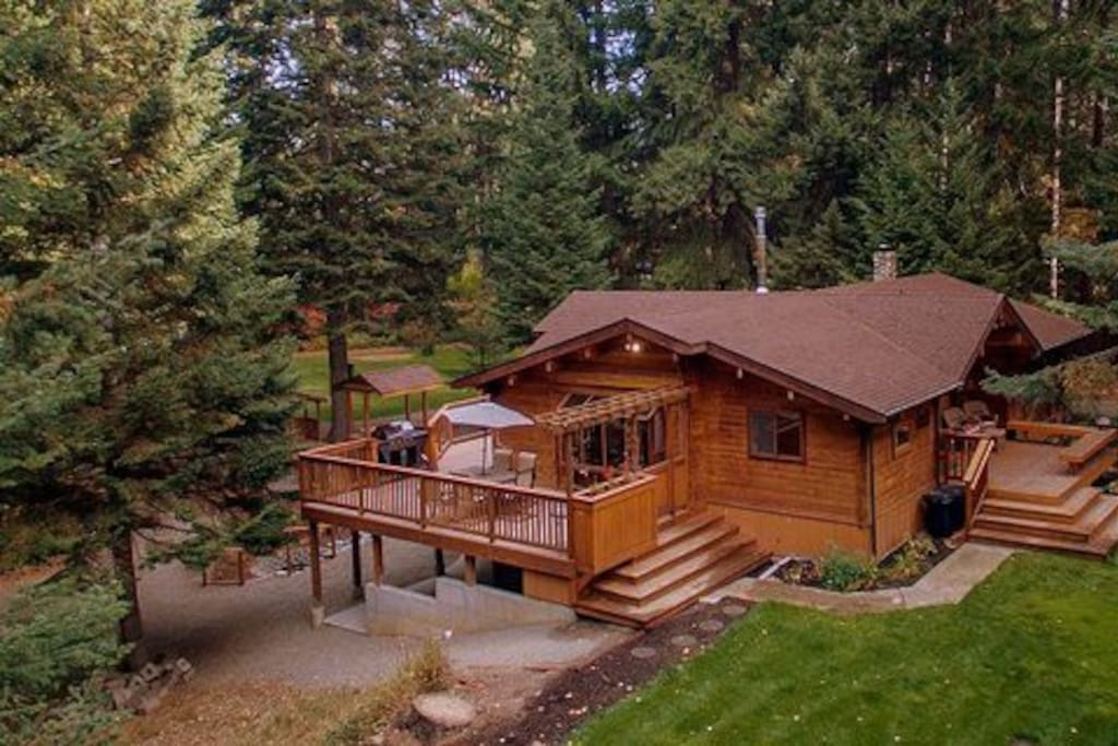 Yakima river retreat cabins for rent in cle elum for Cle elum lake cabins
