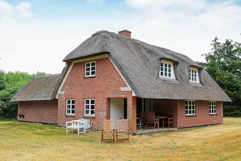 Decorated Holiday Home in Jutland near the Sea