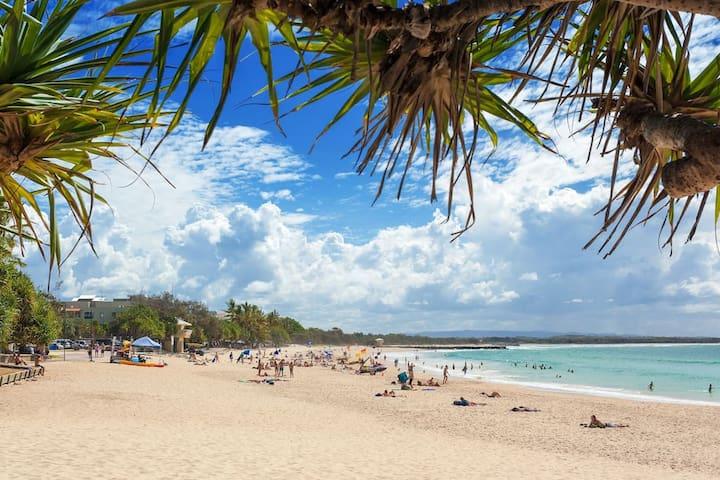 'Villa Little Cove' walk beach, Hastings St, park - Noosa Heads - Villa