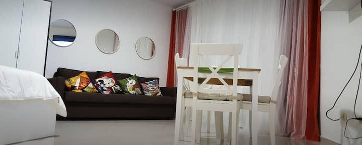 Apartamento etudio frente al Mar en Juan Dolio.