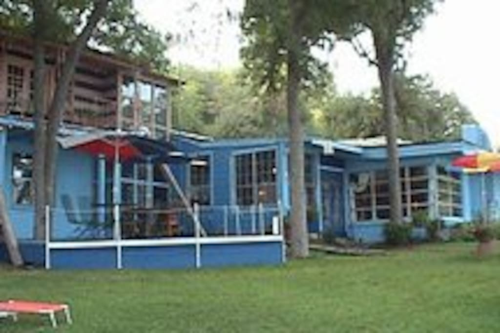 Blueboy Inn and Retreat  (Deck view)
