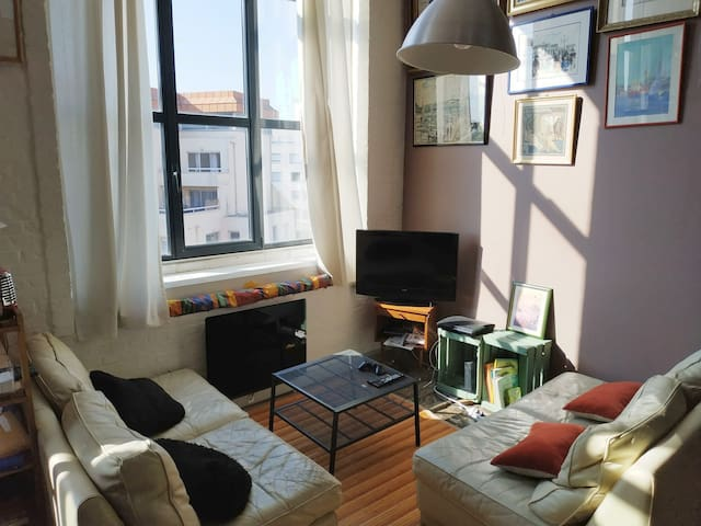 Joli loft cozy, 60 m², proche centre-ville