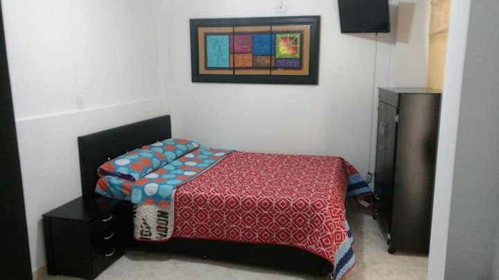 Aparta estudio cama doble #2