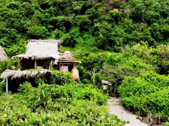 !! Beach-front cabin in Mermejita, Mazunte !! - Mazunte - Hospedaria