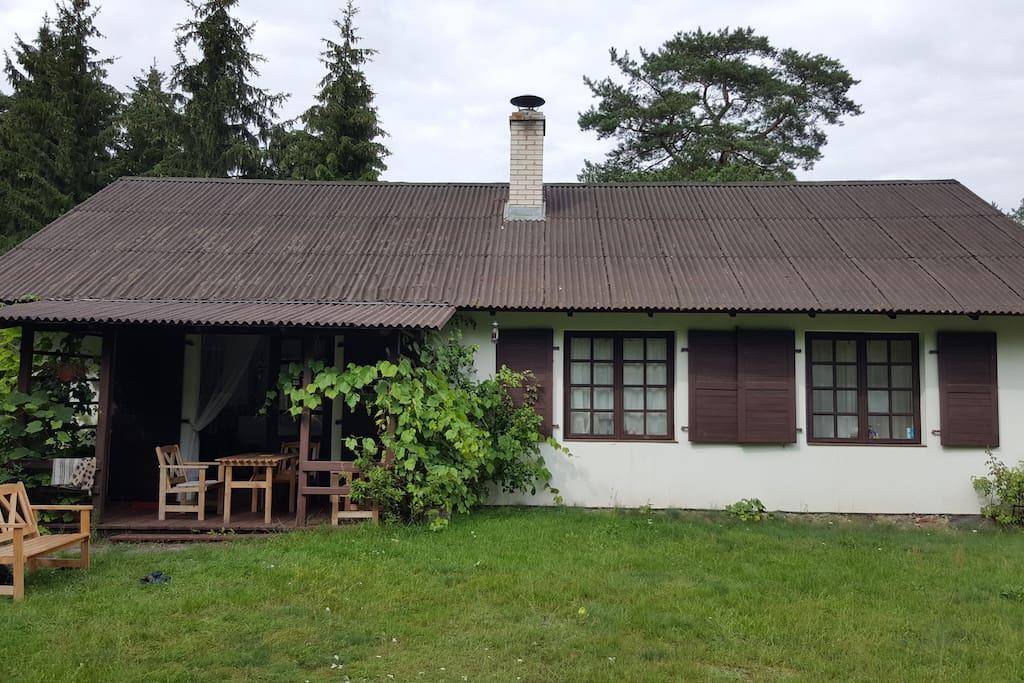 Dom, salon, jadalnia w Snach i Kamieniach