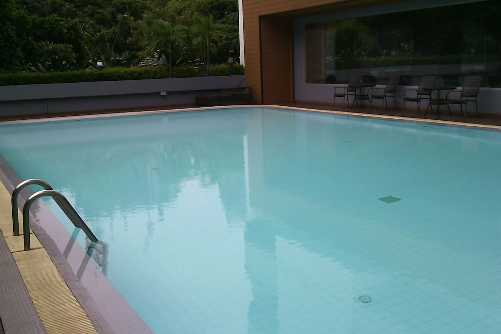A large size pool