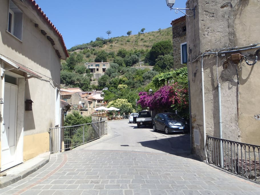 Strada interna Pollica